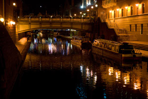 Canal near Conservatoire Photo by Ted Leung